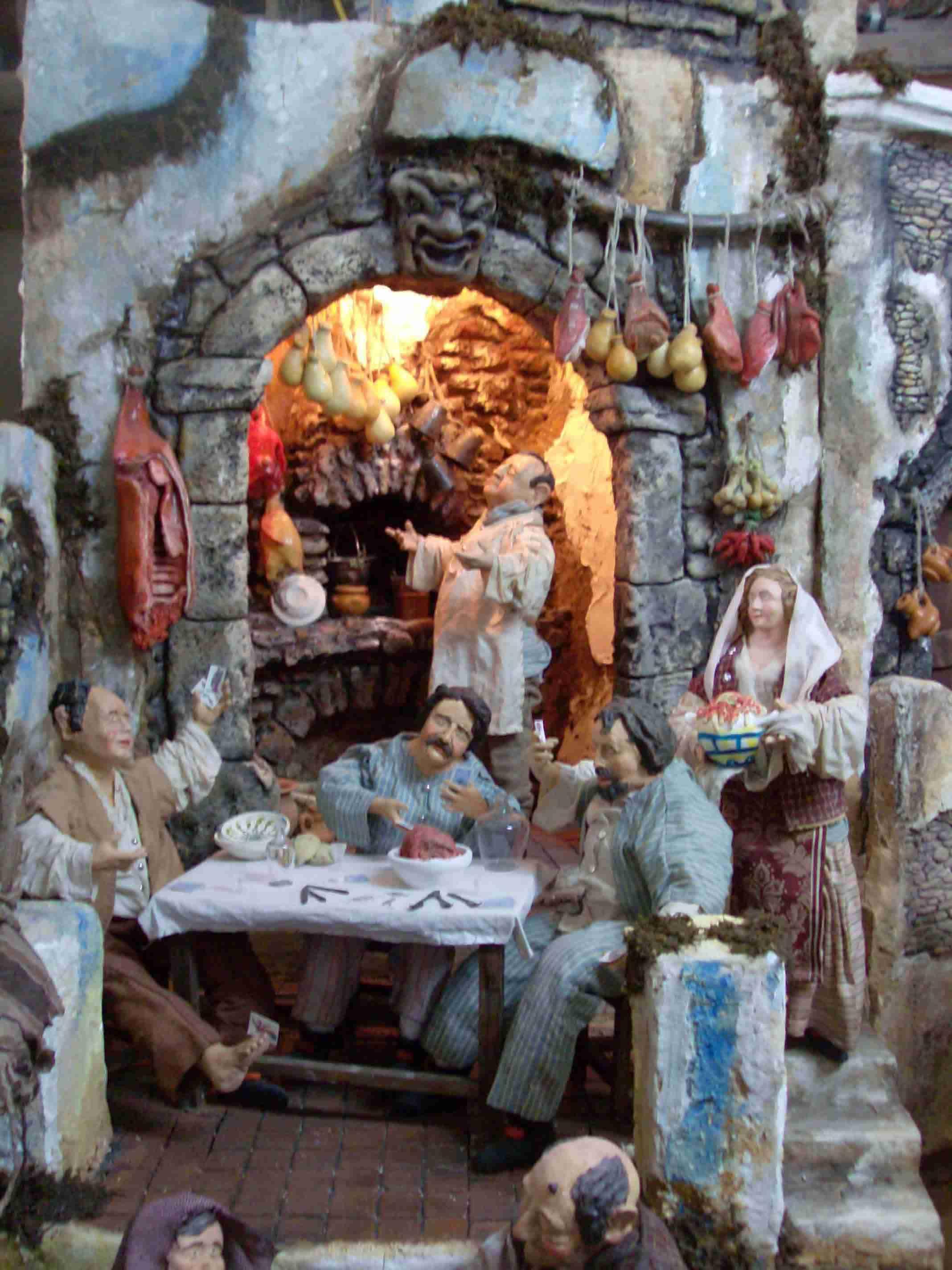 Ivano Vecchio - presepe di S.Nicolò Politi 2
