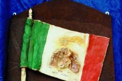 Agnini Nativita nella bandiera