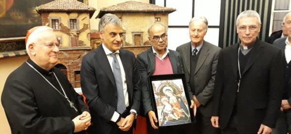 presepe al palazzo della Provincia di Perugia