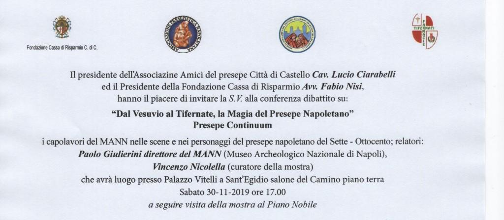 invito 2019 presepe palazzo Vitelli2